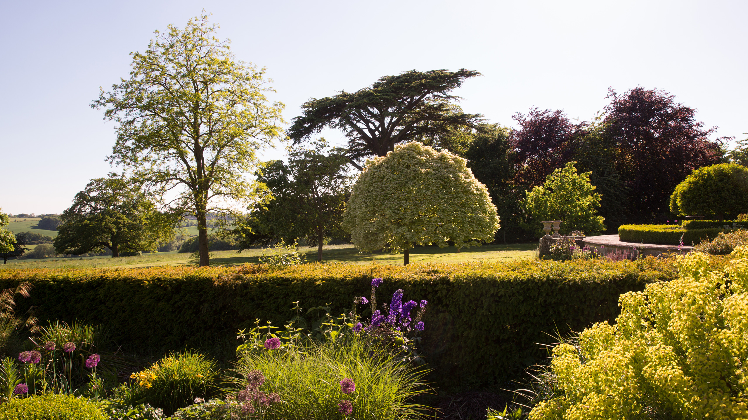 Lyndon Hall Gardens, Westerly View