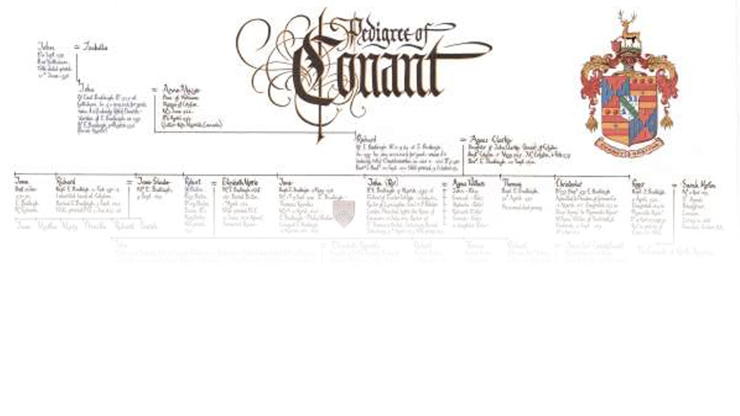 Background slide family tree