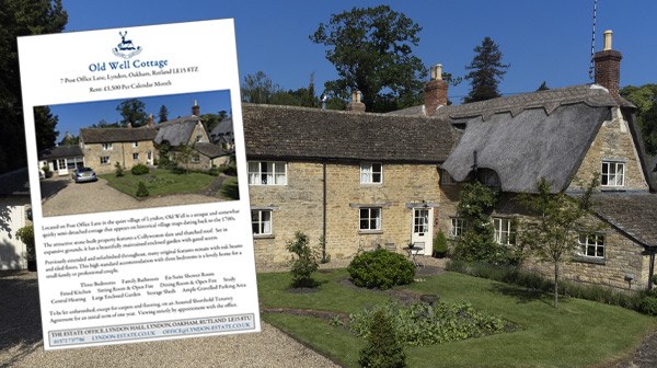 Residential Lettings - Old Well Cottage