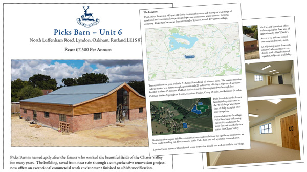 Picks Barn Office Space Details