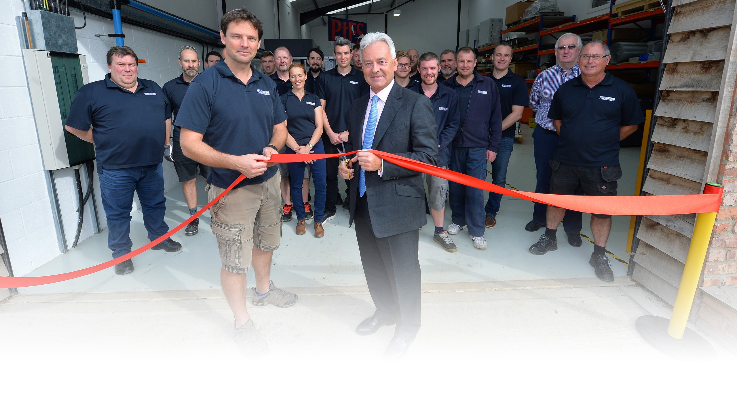 Surface Generation Opens New R&D Centre, Lyndon Barns