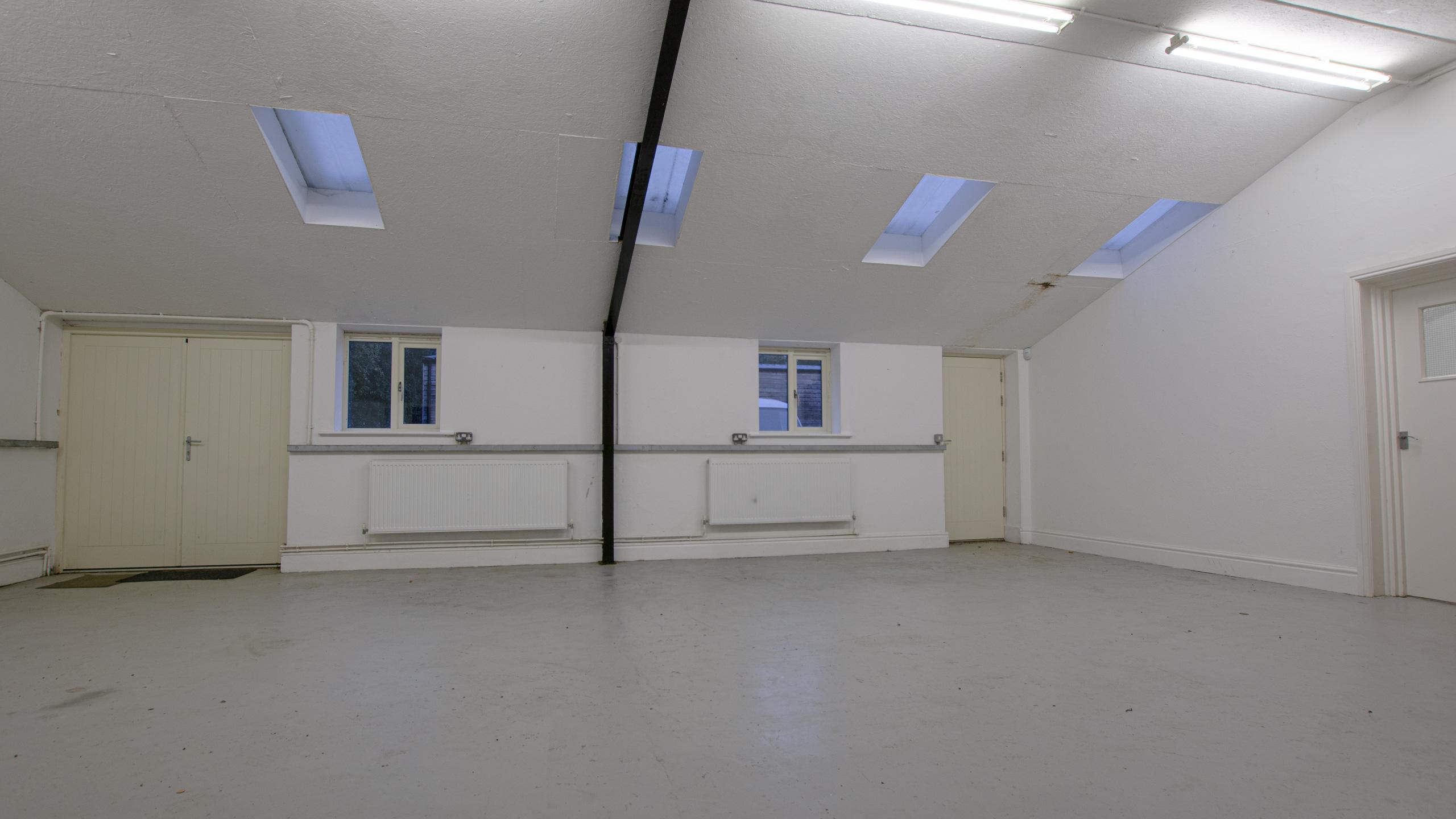 No.2 Lyndon Workshops - Main Area