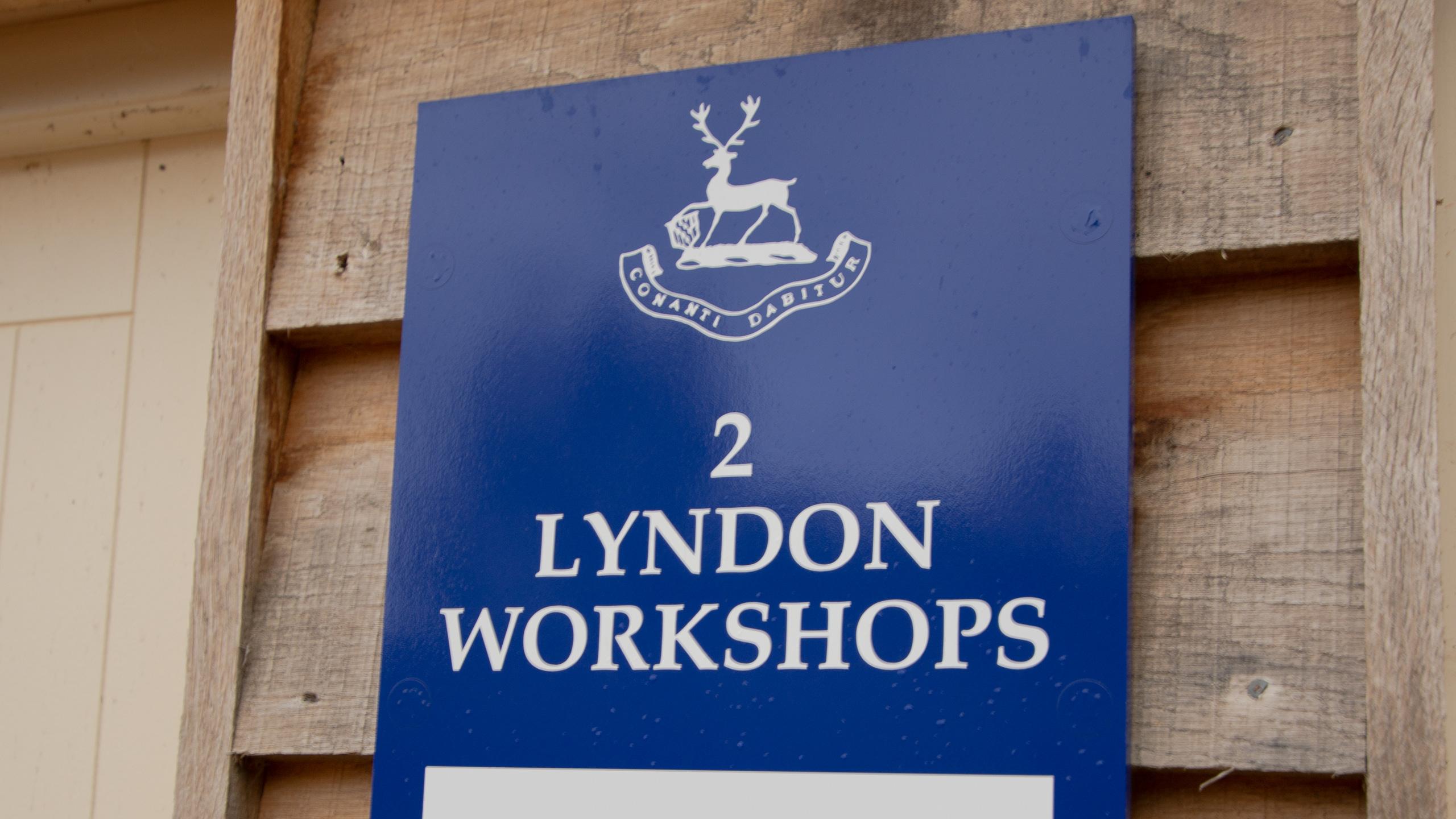 No.2 Lyndon Workshops - Personalised Signage