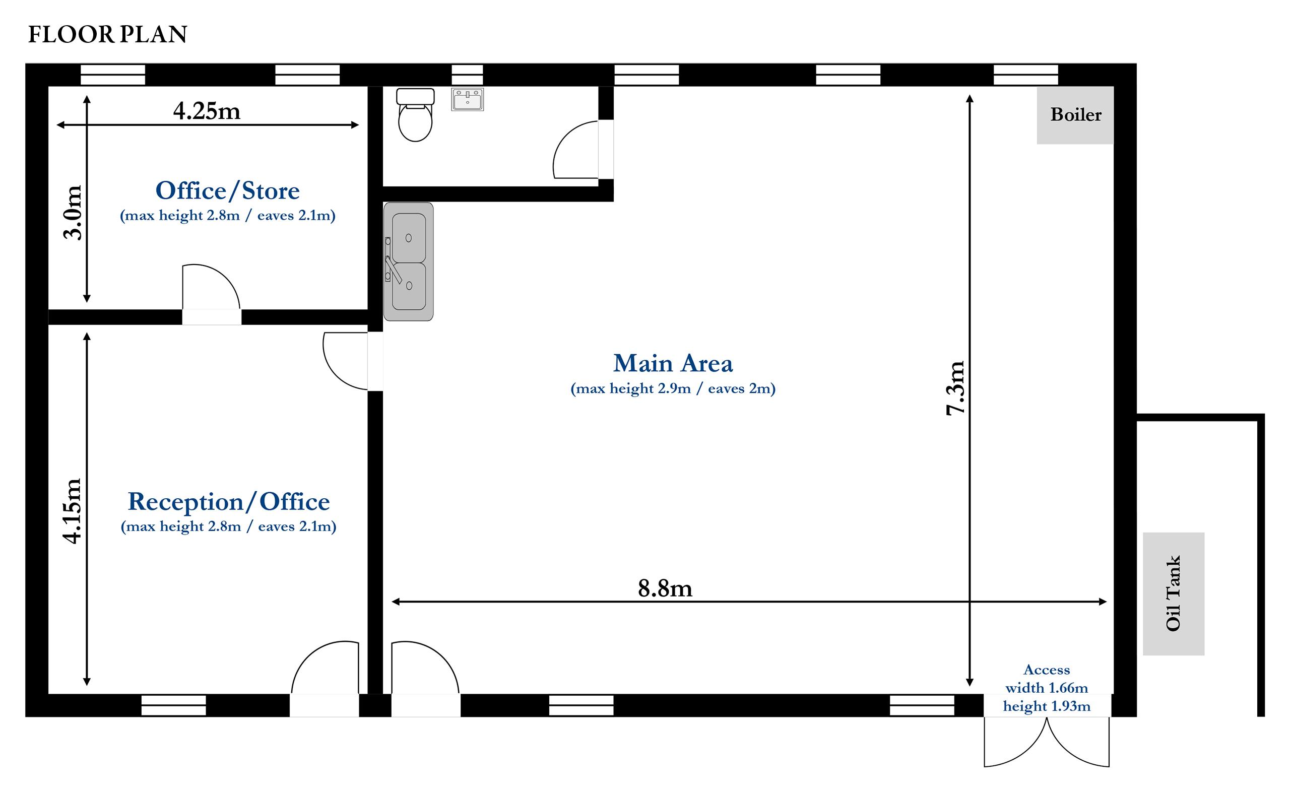 No.2 Lyndon Workshops Floor Plan