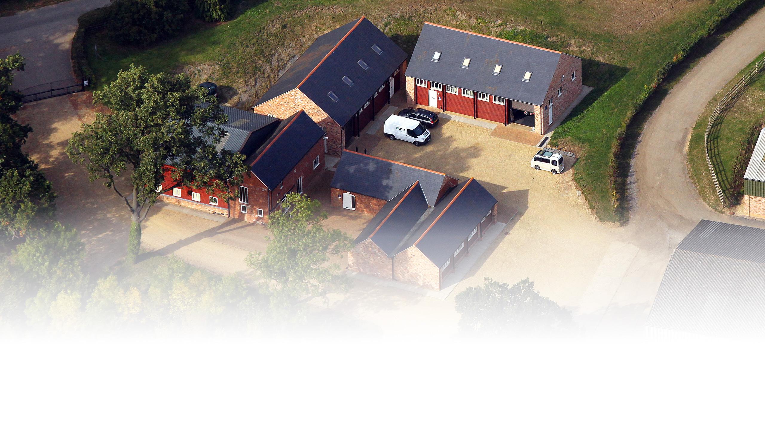 Lyndon Barns Aerial View, 2011