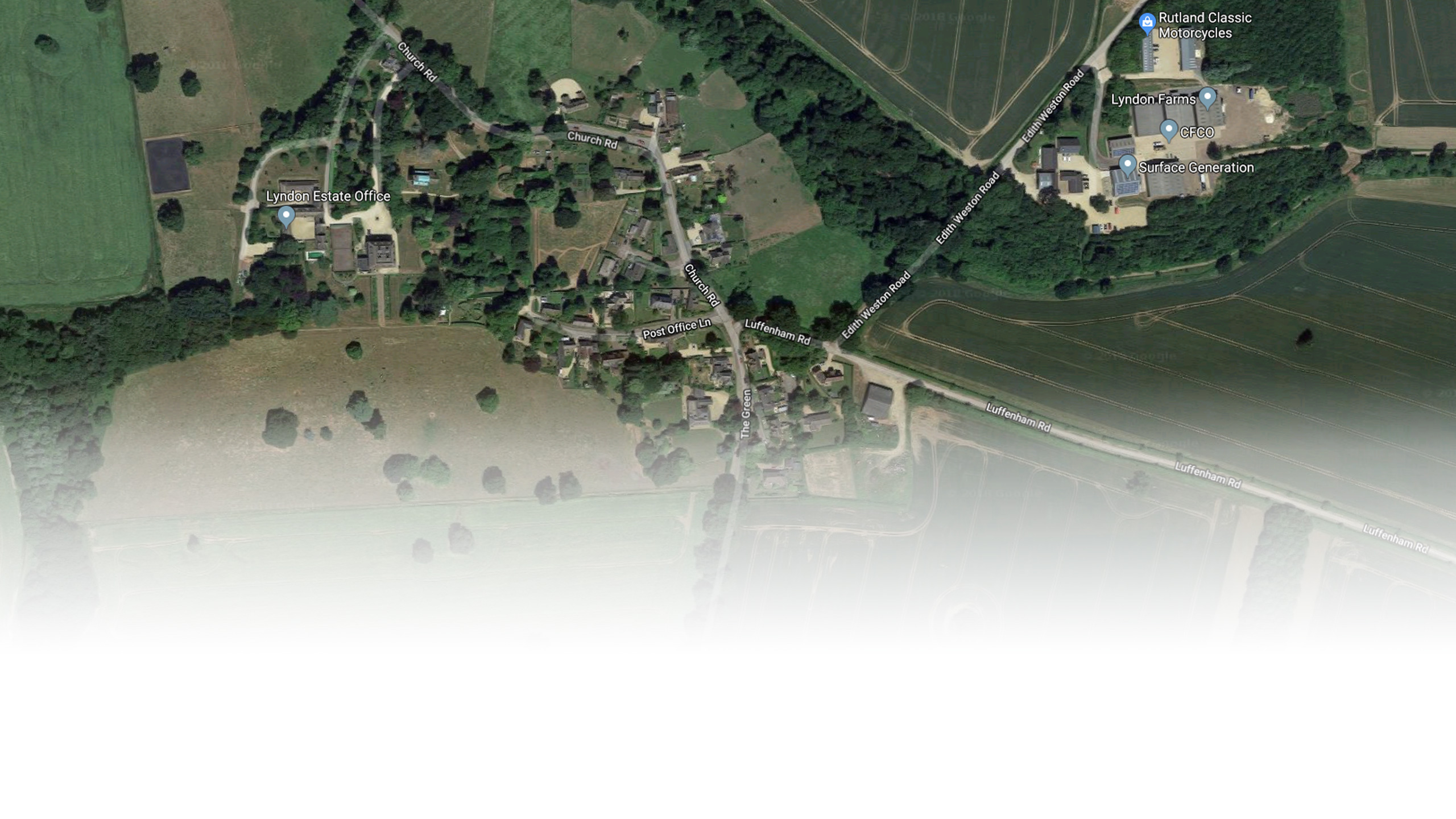 Lyndon Village - Google Maps Satellite