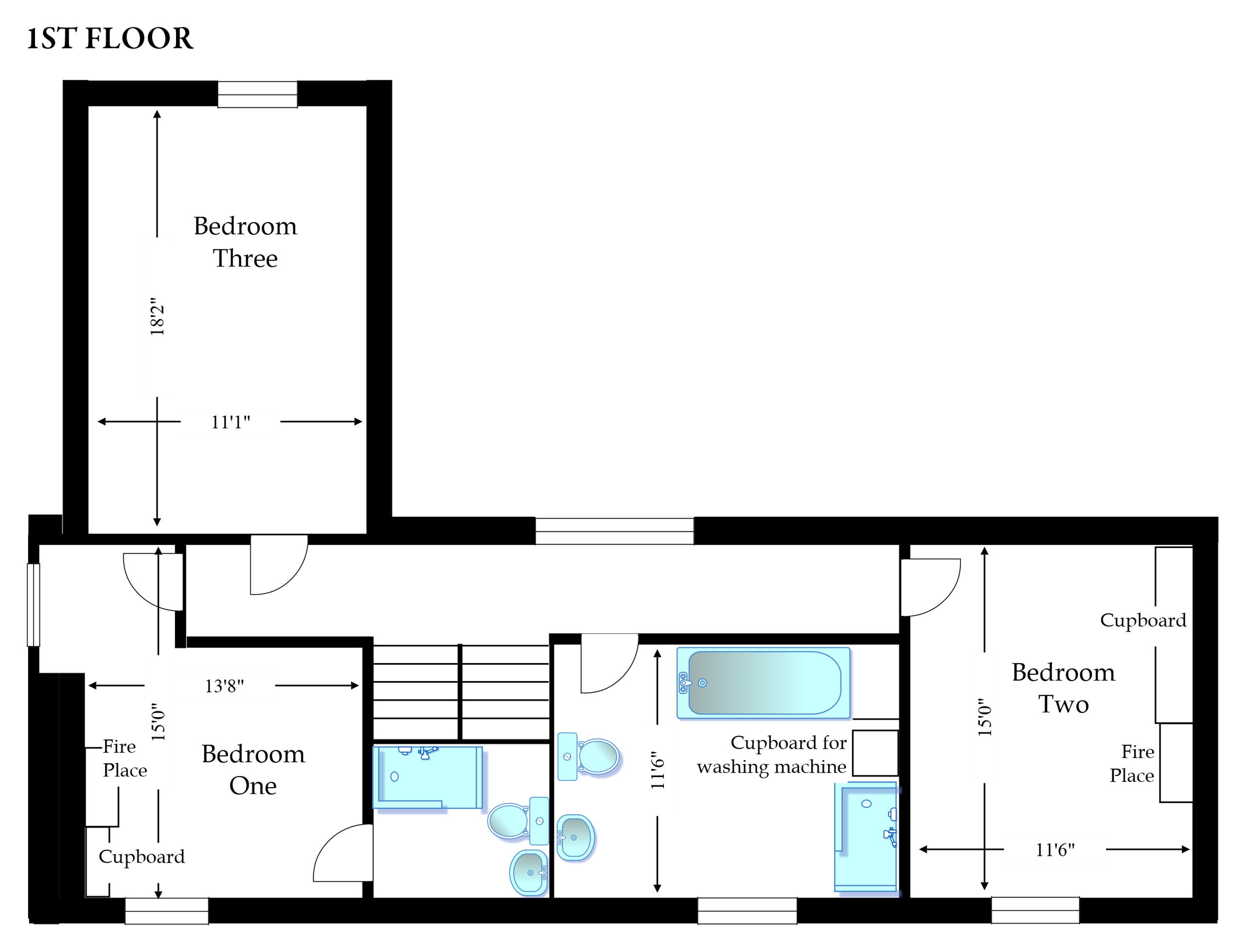 Baytree Plans Floor One